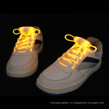 светодиодные шнурки мигающий