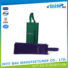 High quality 80gsm non woven fabric 6 bottle wine bag