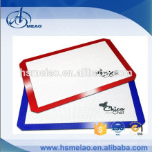 Kundenspezifische Großhandels-Antihaft-Silikon-Backmatte