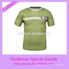 camisetas de deportes personalizadas unisex de alta calidad con buen precio