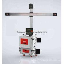 Instrument de positionnement à quatre roues pour wagon de marchandises 3D-24