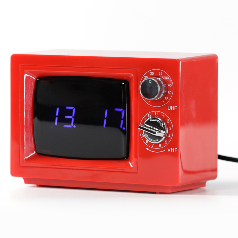 old alarm clock digital