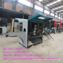 CNC Square Timber Multiple Blade Sawmill Machine