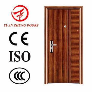 Puerta de acero de lujo de la puerta delantera