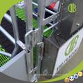 Certified Pig Farming Equipment Edelstahl-Trog für die Sau auf Farrowing Crate