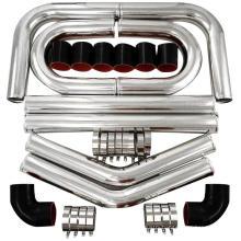 """2"""" 2.5"""" 3"""" 3.5"""" 4"""" 5"""" universal Aluminium Intercooler piping kit"""