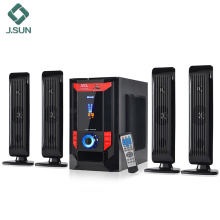 Sistema de home theater 2018 4.1 som surround 3D