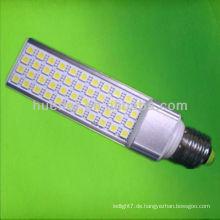 11w smd5050 gx24q LED PL Licht mit isoliertem Fahrergehäuse