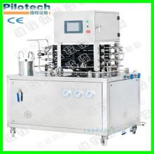 Mini máquina de esterilização ultra alta temperatura de laboratório