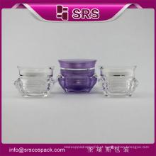 China Wholesale Cosméticos Acrylic Containers E Plastic Sample CreamJars