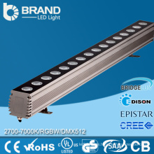 Guangzhou Factory Outdoor IP65 Wasserdichte 24x1W DMX RGB LED Wall Washer
