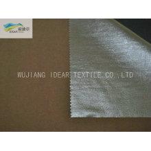 Silber Polyester Taft Blackout Stoff für Vorhang