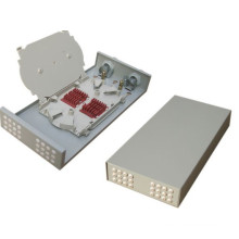 Caixa da caixa terminal FTTH da fibra do LC da caixa terminal de fibra de 8 núcleos / caixa