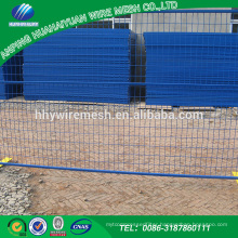 Low Price And High Quality clear plastic canada temporary fence