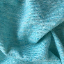 Linen Cotton Knitted T-Shirt Fabric (QF15-2063)