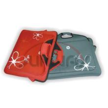 Bolsa de portátil duradera de neopreno con la manija y los bolsillos (PC018)