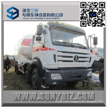 12 Wheeler North Benz 7000 Litre Concrete Mixer Truck