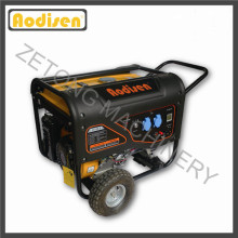 Générateur d'essence portatif électrique numérique de 6kw / 7kVA 8000 ohv