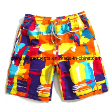 Summer Polyester Color Beach Short Pants for Man