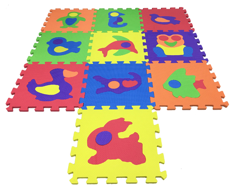 Animals Puzzle Mat