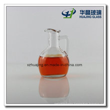 150ml Mini Clear Empty Oil Glass Bottle with Handle