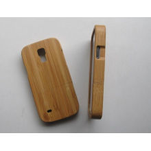 Customized Galaxy S4 Mini Phone Case,carbonized Bamboo Case For Mini I9500