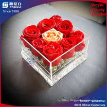 Fashionable Clear Acrylic Flower Display