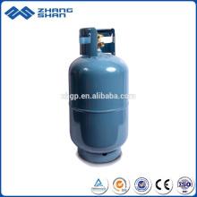 Os fabricantes fornecem diretamente um cilindro de gás vazio de 15 kg de qualidade confiável