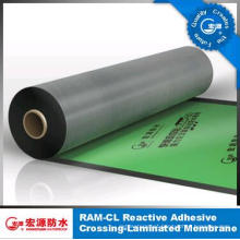 One-Side Sticky HDPE Film Self -Adhesive Waterproof Membrane /Roofing Felt /Basement Underlay /Garage Foil (ISO)