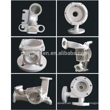 Silicon glue investment casting 316SS Pipe fittings