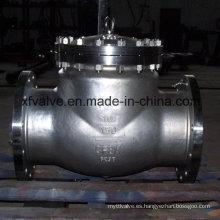 API6d Válvula de retención de extremo de brida de acero inoxidable