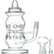 Botella de bebé clara DAB Rig para uso diario (ES-GB-091)