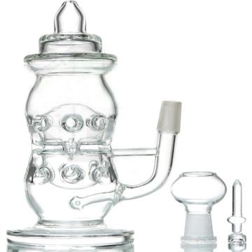Clear Garrafa de bebê DAB Rig para uso diário (ES-GB-091)