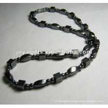 Hematite Square beaded Necklace