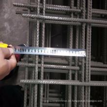 Malla de hormigón de acero / refuerzo de acero panel de malla de alambre soldado