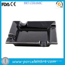 Black Square Portable Pocket Ash Tray