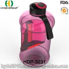 Newly Portable 2.2L Customized Plastic Water Bottle with Container, BPA Free 2.2L Plastic Sport Jug (HDP-3031)