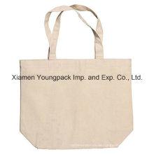 Fördernde kundenspezifische wiederverwendbare Einkaufstote-Baumwoll-Handels-Beutel
