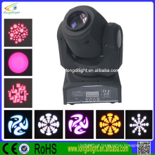 Alta qualidade conduziu a luz movente do ponto mini, 10w gobo que move a luz principal