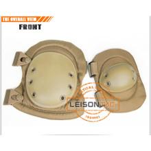 Тактические колена и налокотники принимает высокопрочный материал с усиленной внутренней фиксирующий винт