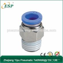 fabricant de haute qualité ningbo mâle droit PC8-02 ou PC8-G02 conectores neumaticos