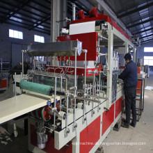 Plastikmaschinerie-WPC-Bau Schalungs-Verdrängungs-Maschine