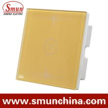 1 Schlüssel Gold Wandschalter, 1fach / 2fach / 3fach / 4fach Haus Gebrauchte Fernbedienung Schalter