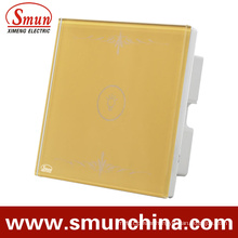 1 Key Gold Wall Switch, 1gang /2gang/3gang/4gang House Used Remote Control Switch