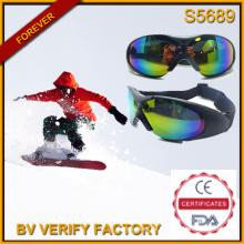 S5689 Hoher Qualität anspruchsvoll gestaltet Halbbilder Skifahren Schutzbrille