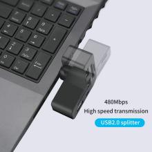 Lecteur de carte SD TF USB 2.0 HUB rotatif