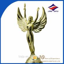 Best selling metal human-shaped sculptures bodybuilding trophy