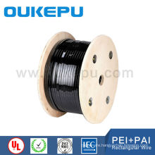 AWG standard Polyester-imide Class220 Enameled flat Magnet Wire