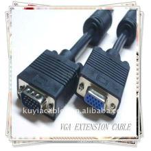 Cable de extensión VGA M / F macho a hembra para monitor de vídeo LCD de computadora CRD MONITOR