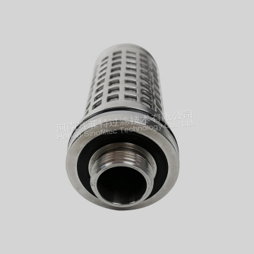 SUS 316L Hydraulisk Backwash Coal Mill Filter Element